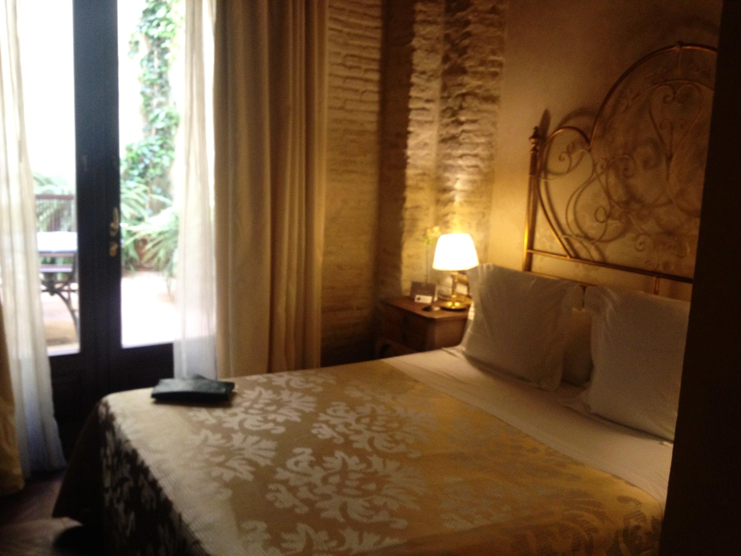 Onze kamer met priveterras in casa 1800