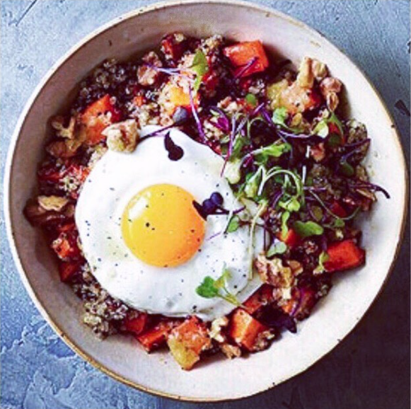 Our build your bowl contest winner!  GRAIN BOWL  by @lotje.g Congratulations!!!