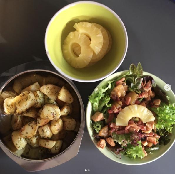 delicious tropical vibes bowls @sabinesabke