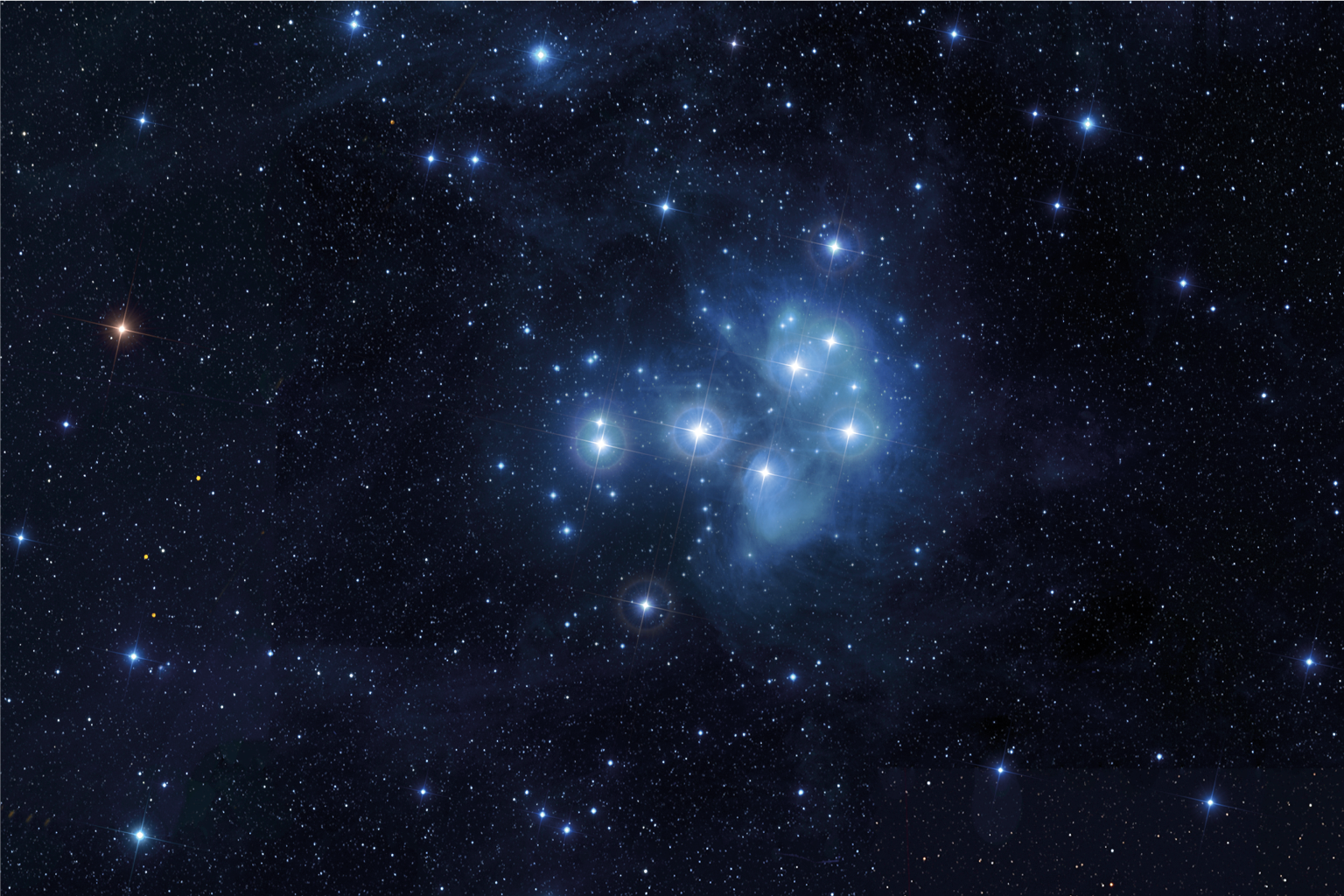 Le Pleiadi  The Pleiades     Credits: Baldas1950/shutterstock.com