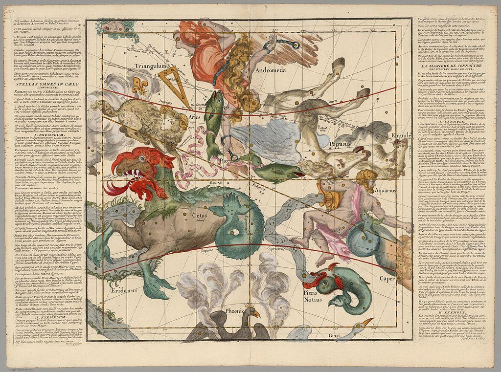 Globi coelestis in tabulas planas redacti descriptio. Auctore R.P. Ignatio Gastone Pardies Soc. Jesu Mathematico, opus postumum, Paris 1674