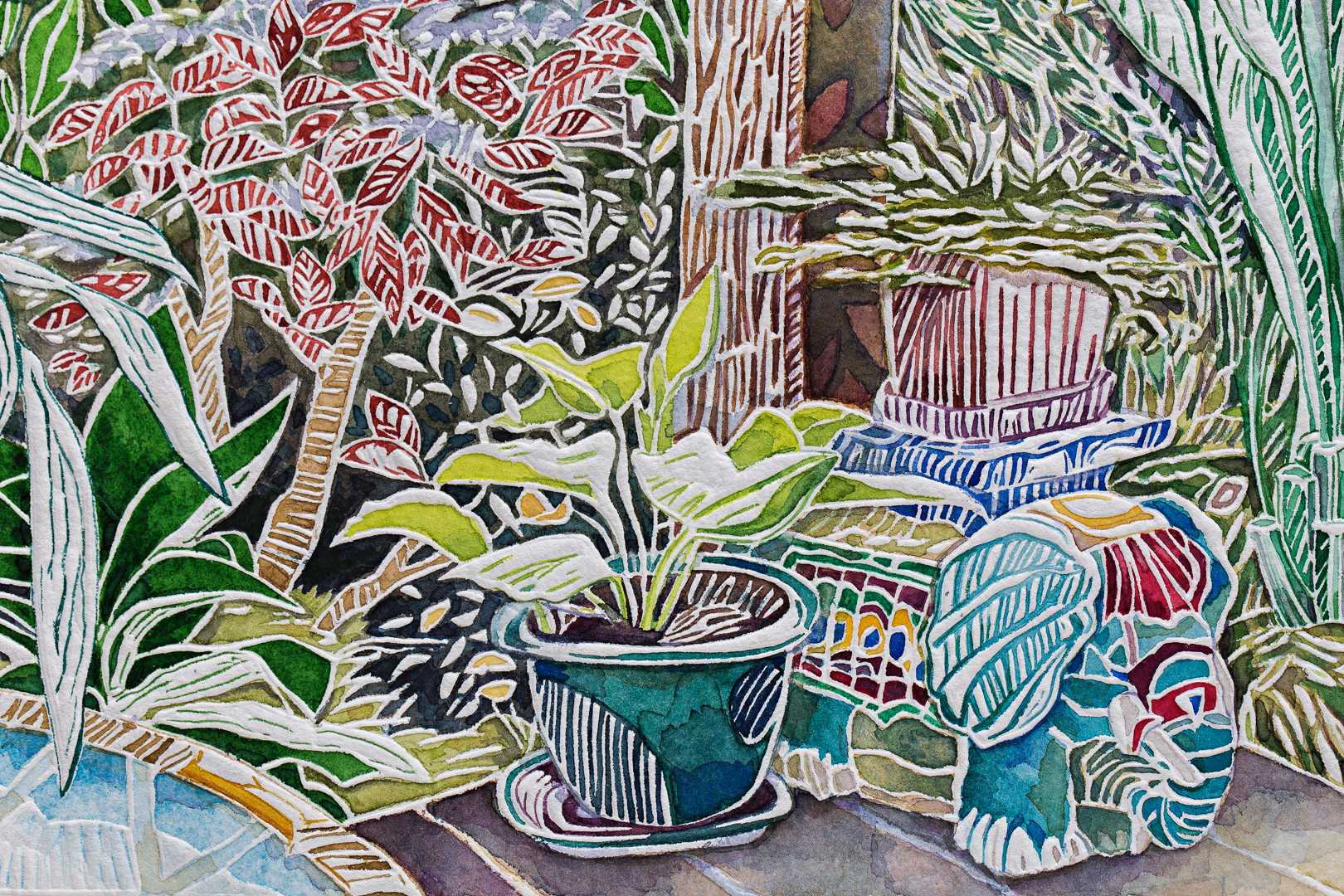 'From the Verandah - Rosebank' 2017