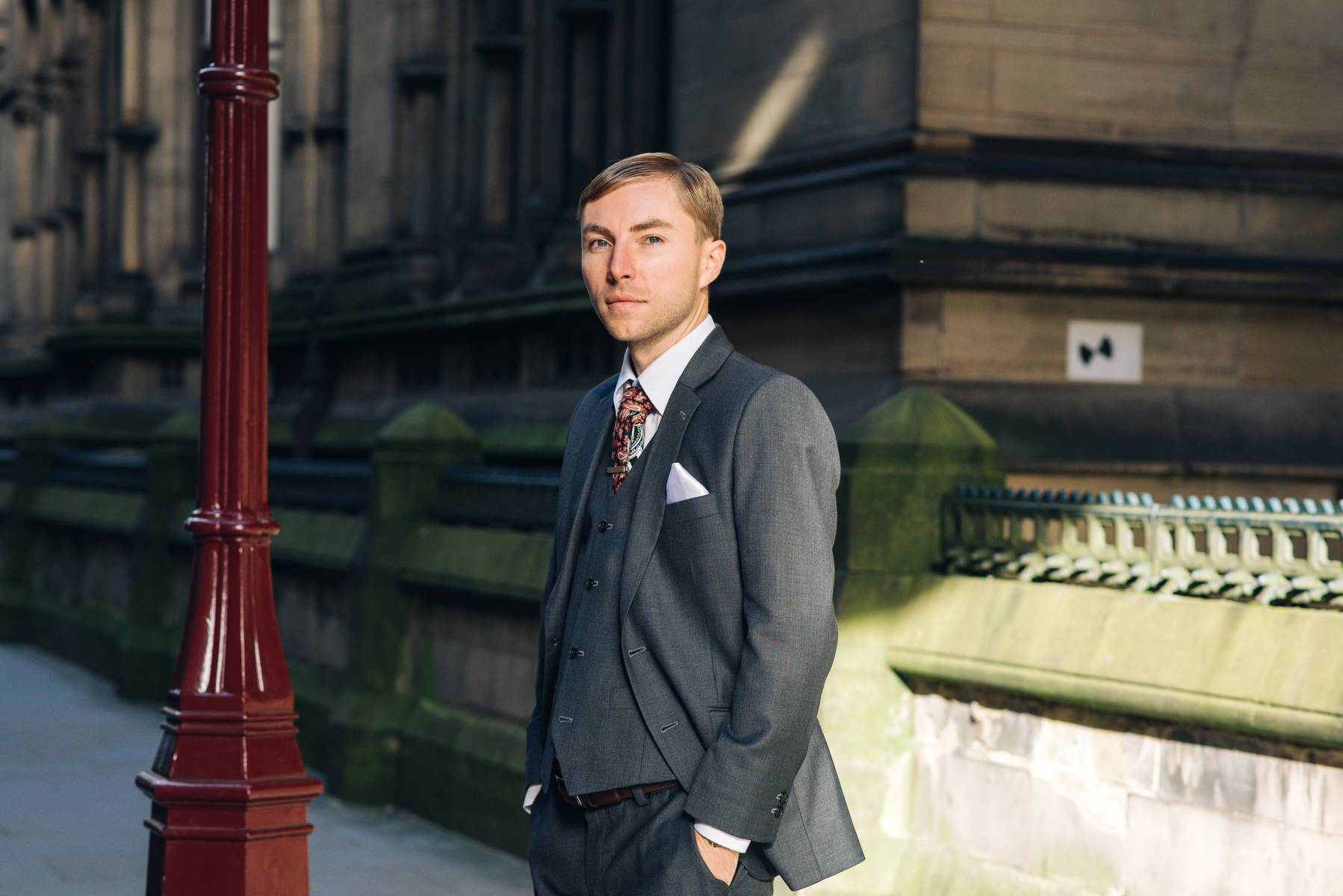 grey, business, formal, smart, tie, town, pocketsquare