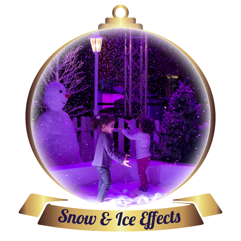 Snow Effects, Ice Rinks & Shows