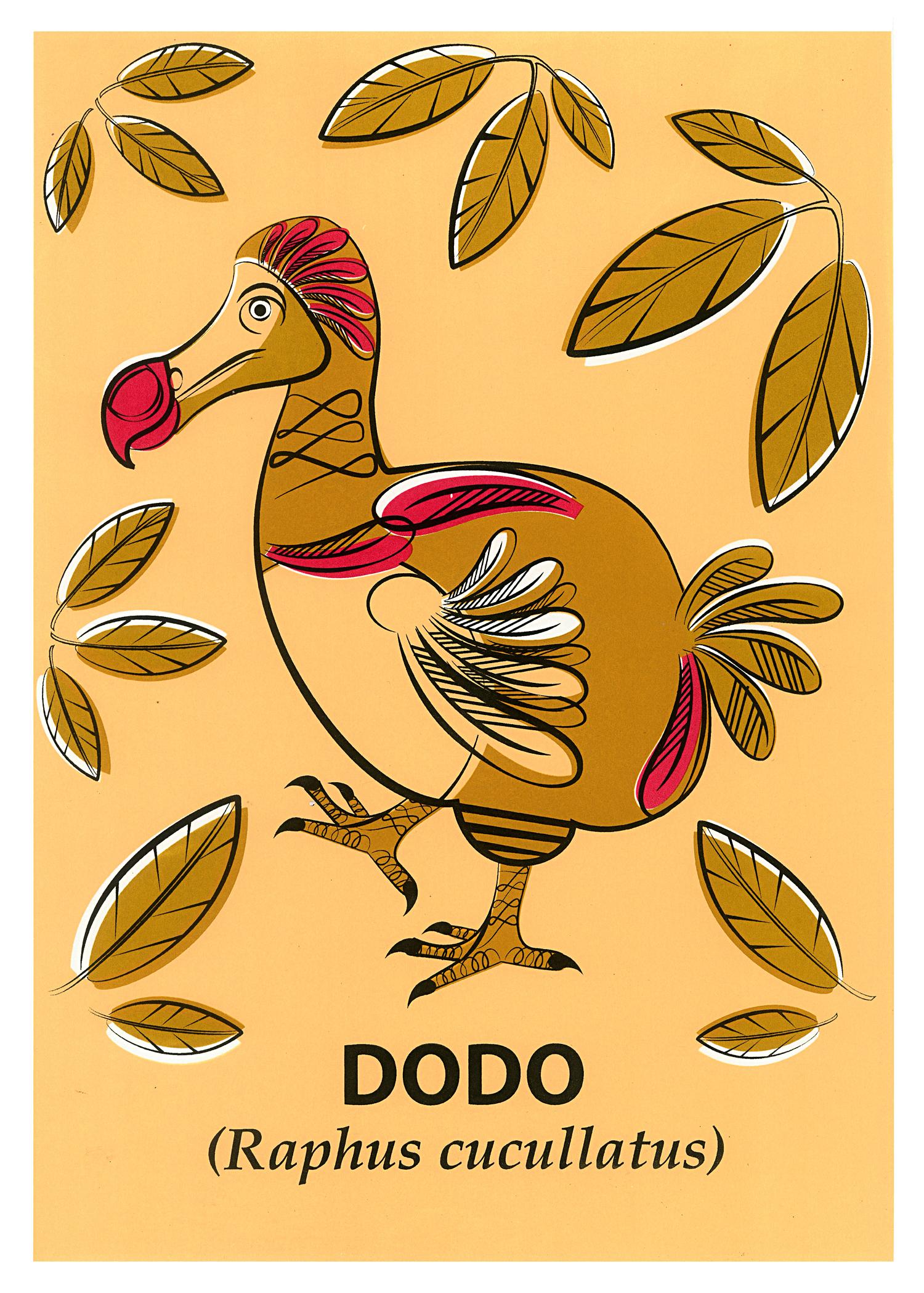 Limited Edition Dodo Screenprint