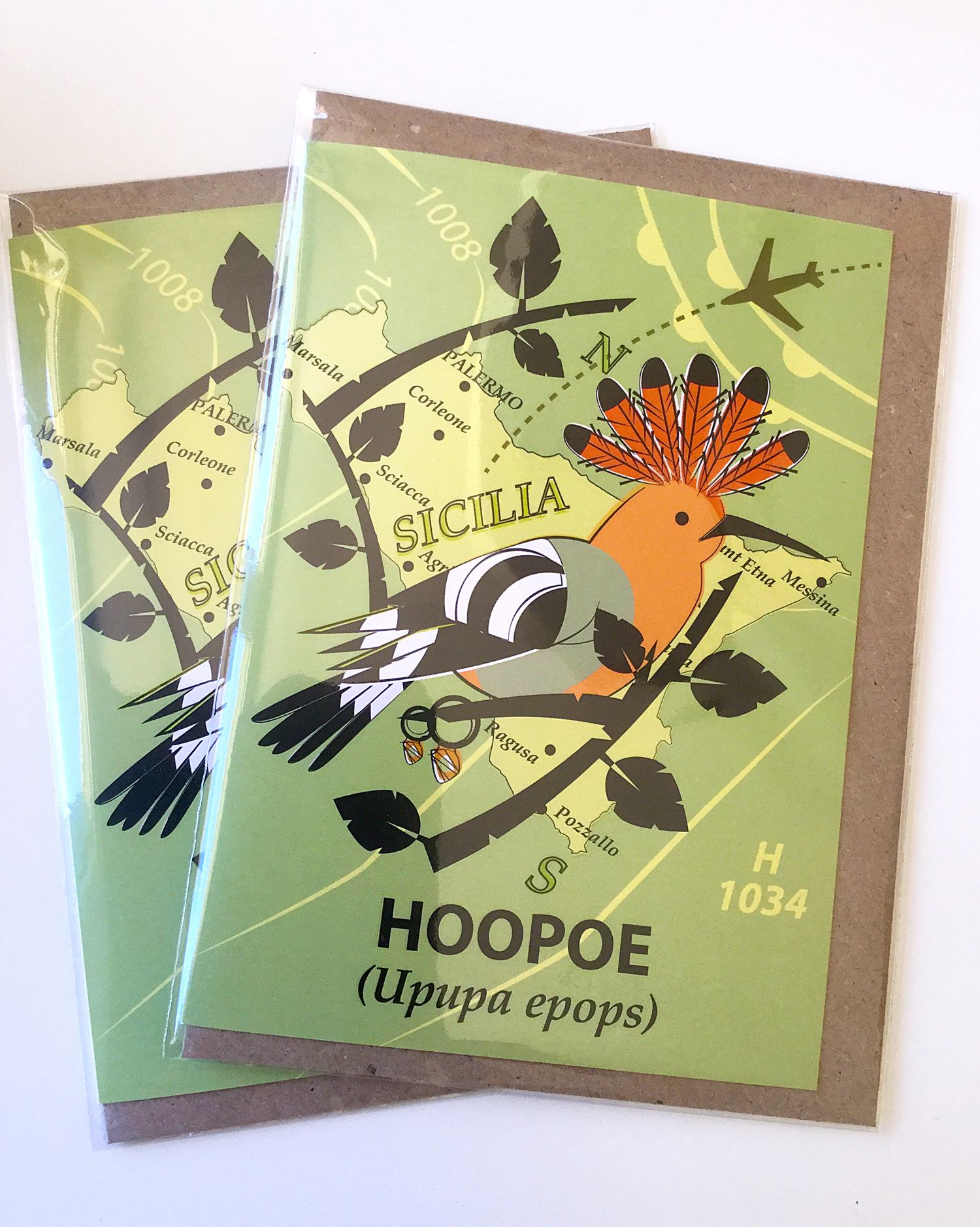 Hoopoe Card Commission