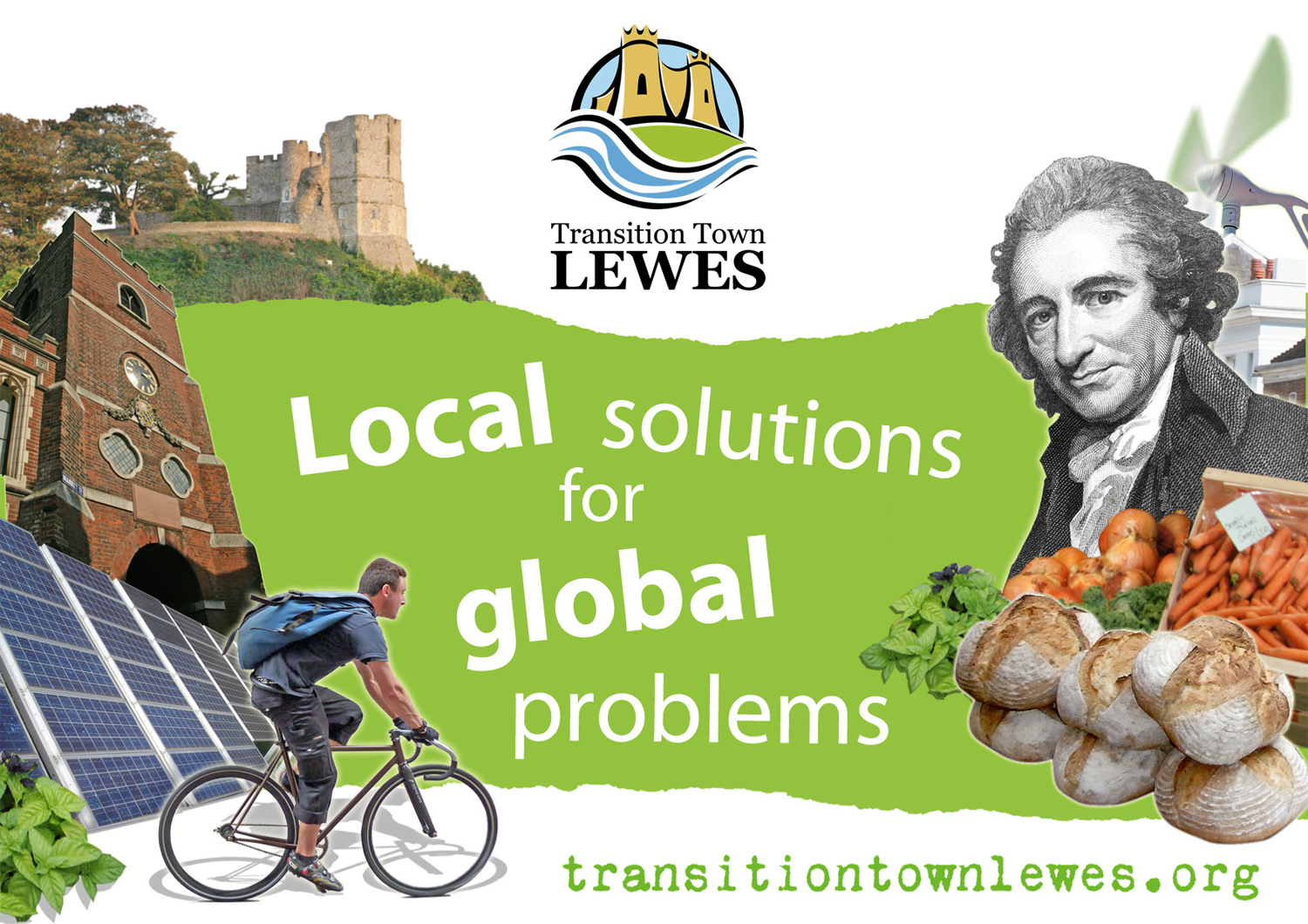 Transition Town Promotional Card