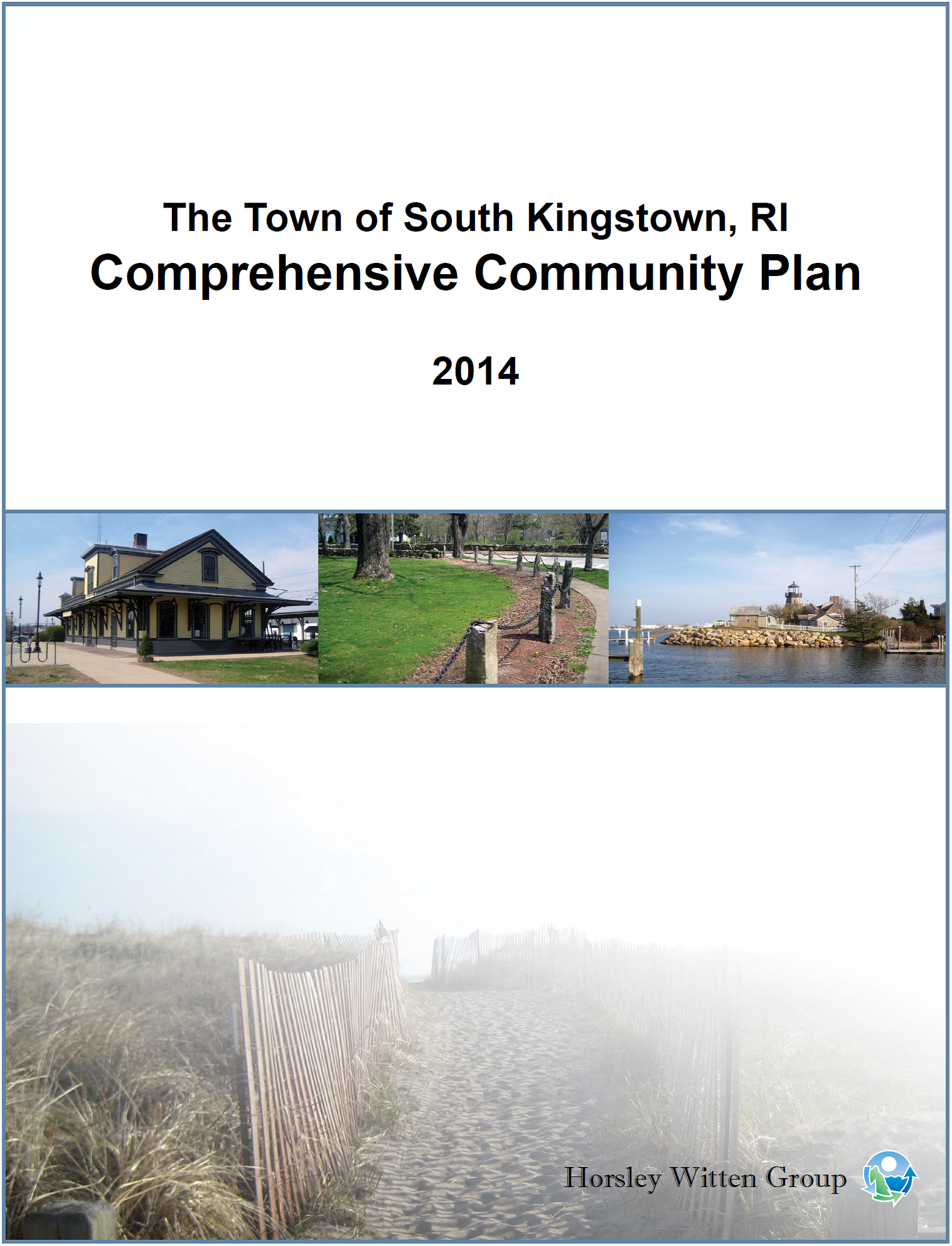 This is the Town's current  Comprehensive Plan , active since 2014.