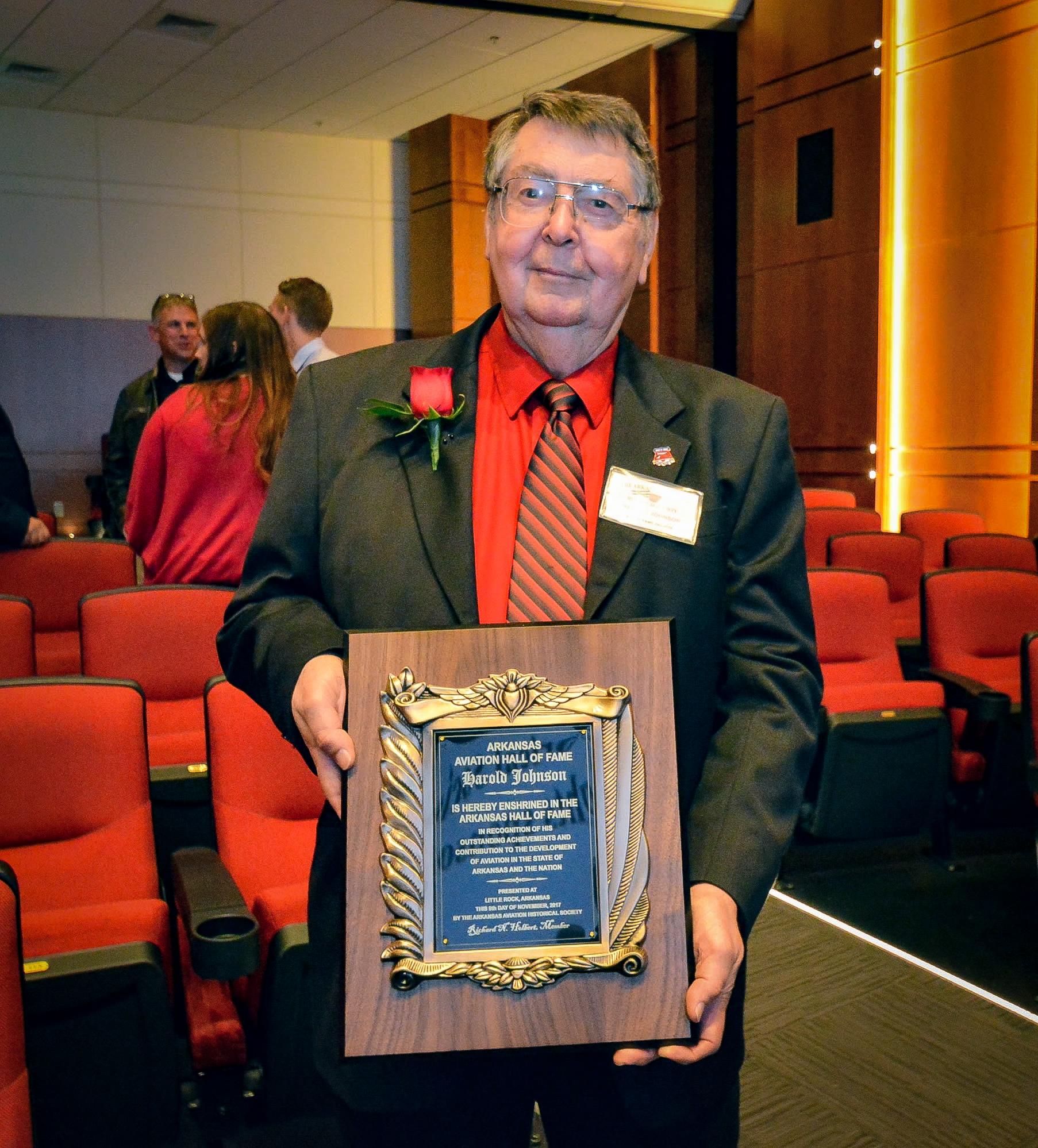 Harold Johnson 2017 Arkansas Aviation Hall of Fame Inductee.jpg