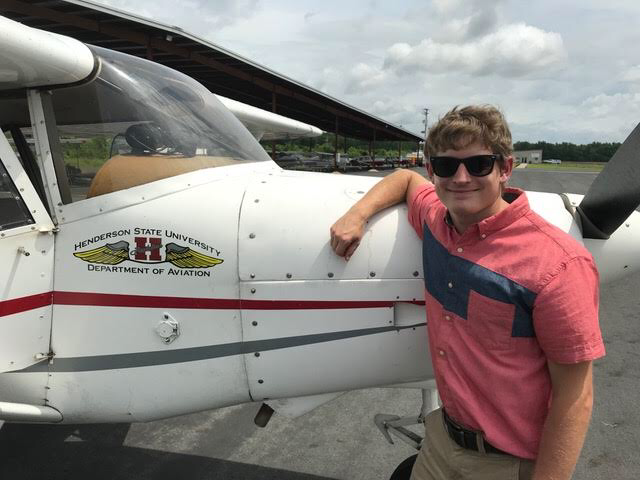 Cody Barbary  was born and raised in Greenwood, Arkansas. He has always been drawn to aviation and dreamed of being a pilot since childhood. Cody is currently a Senior at Henderson State University where he serves as a Certified Flight Instructor. He is Alpha Eta Rho's Chapter President at Henderson State, where he is pursuing a Professional Pilot degree - expecting to graduate in May of 2020. Cody plans to fly for a regional airline as he works toward his ultimate goal of flying for a major airline.