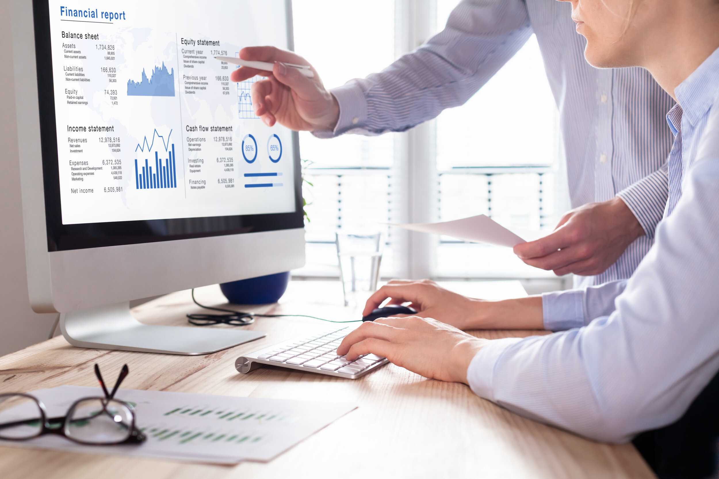Utility audit programs find savings.