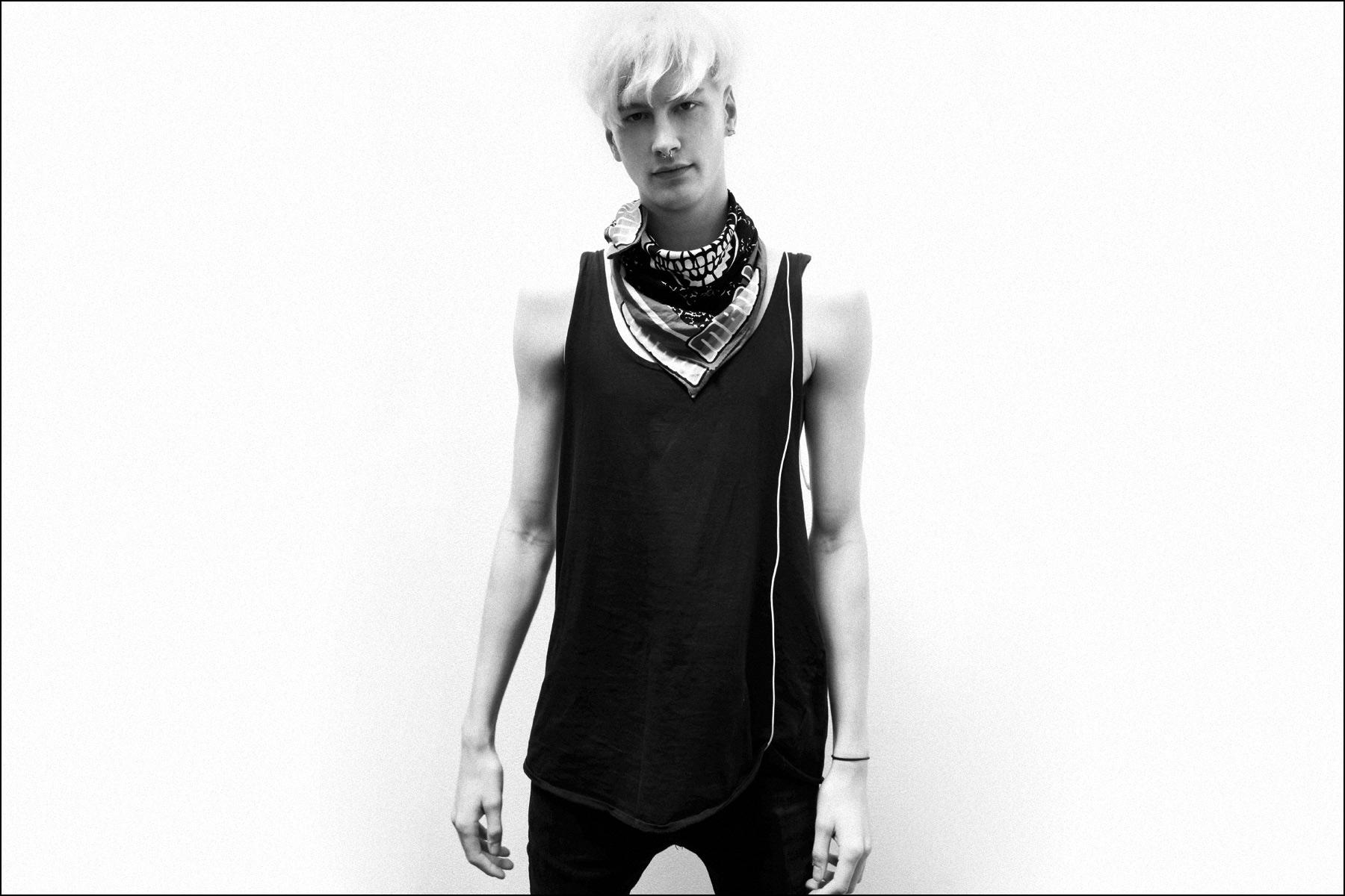 Male model Benjamin Jarvis