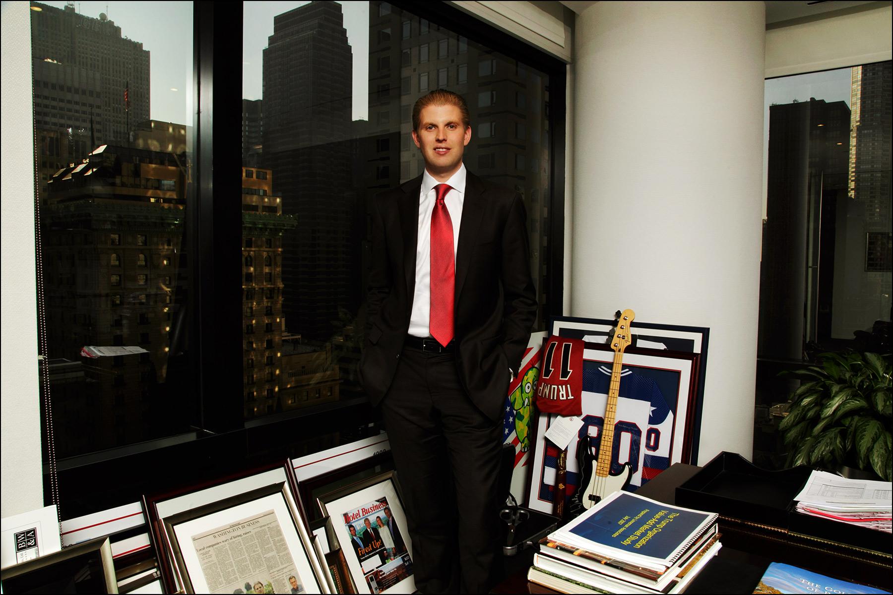 Businessman Eric Trump