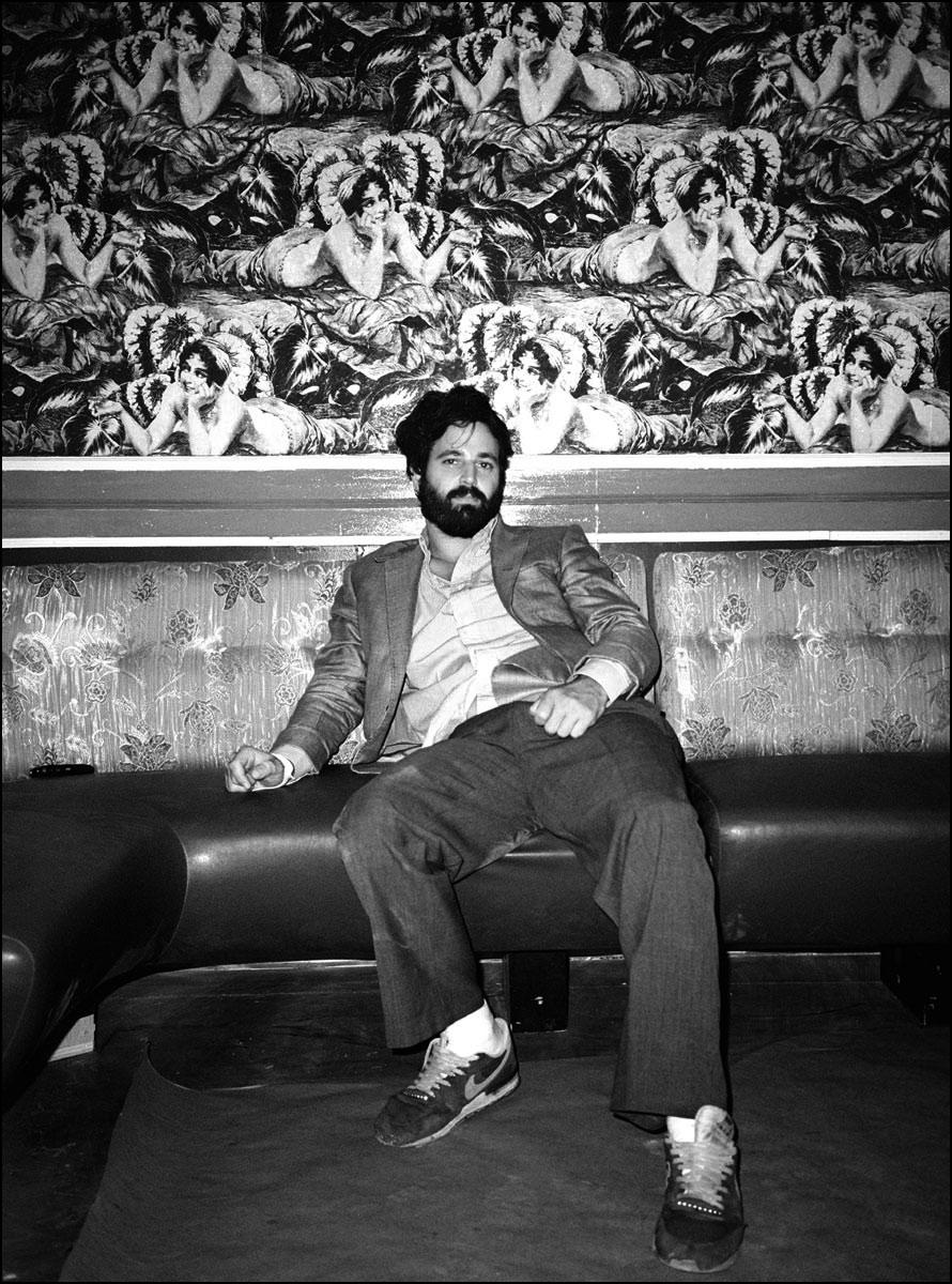 Nightclub owner Simon Hammerstein.