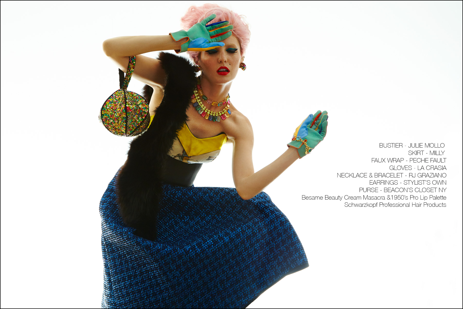 Model Audrey Kitching