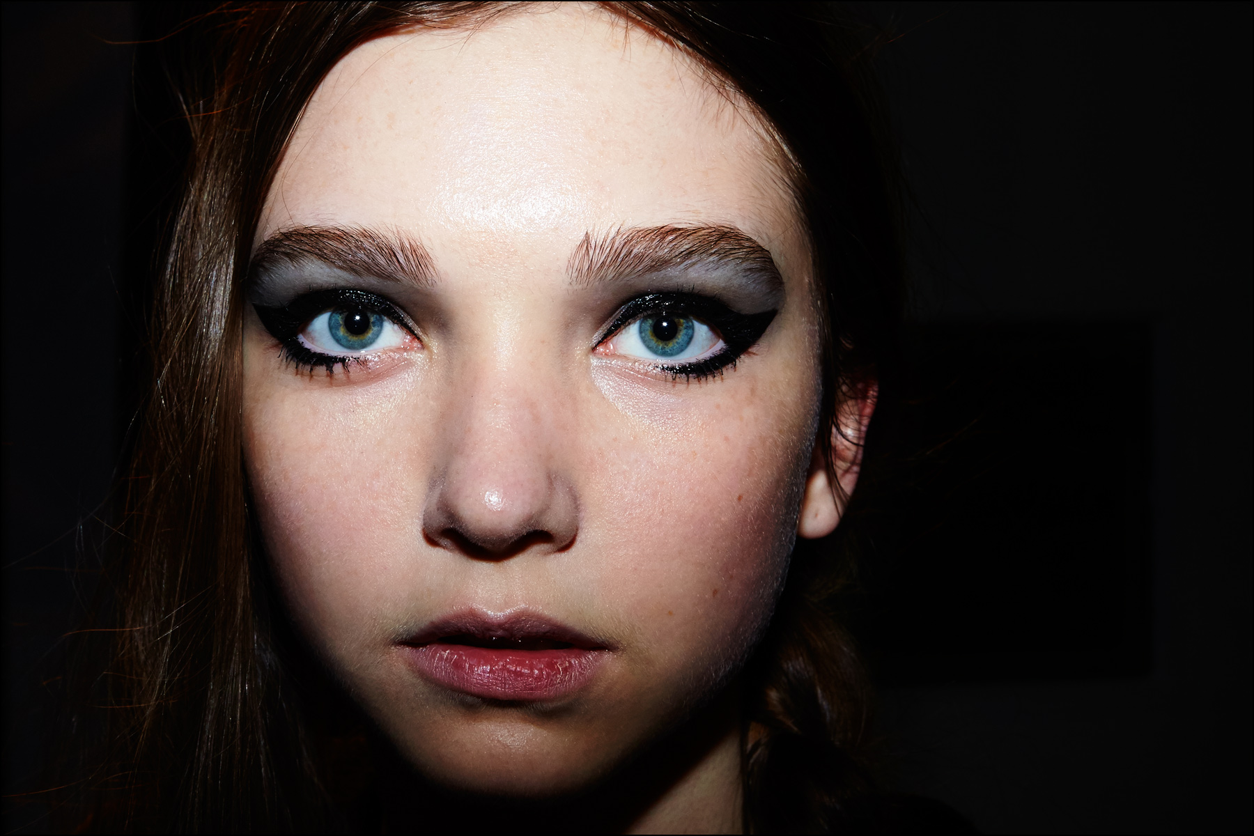 Beauty shot backstage at Libertine