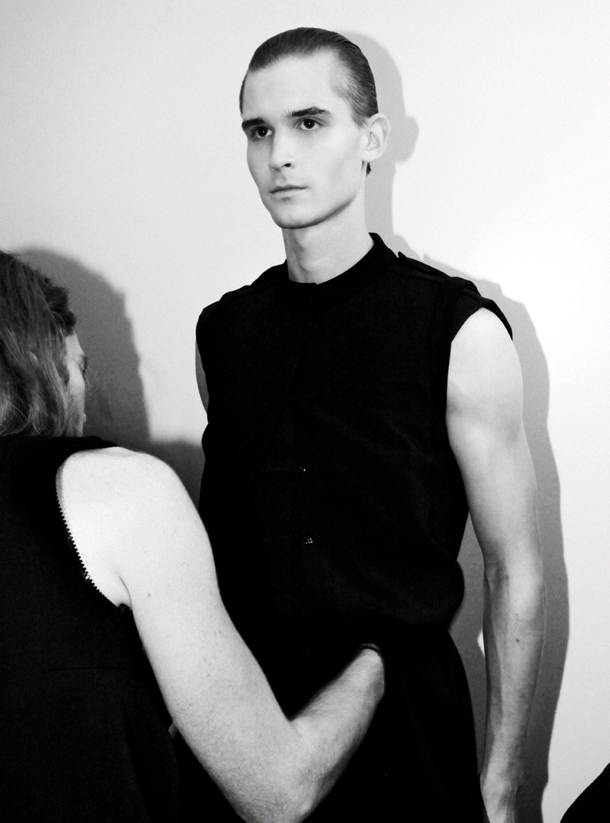 Backstage at Rad Hourani