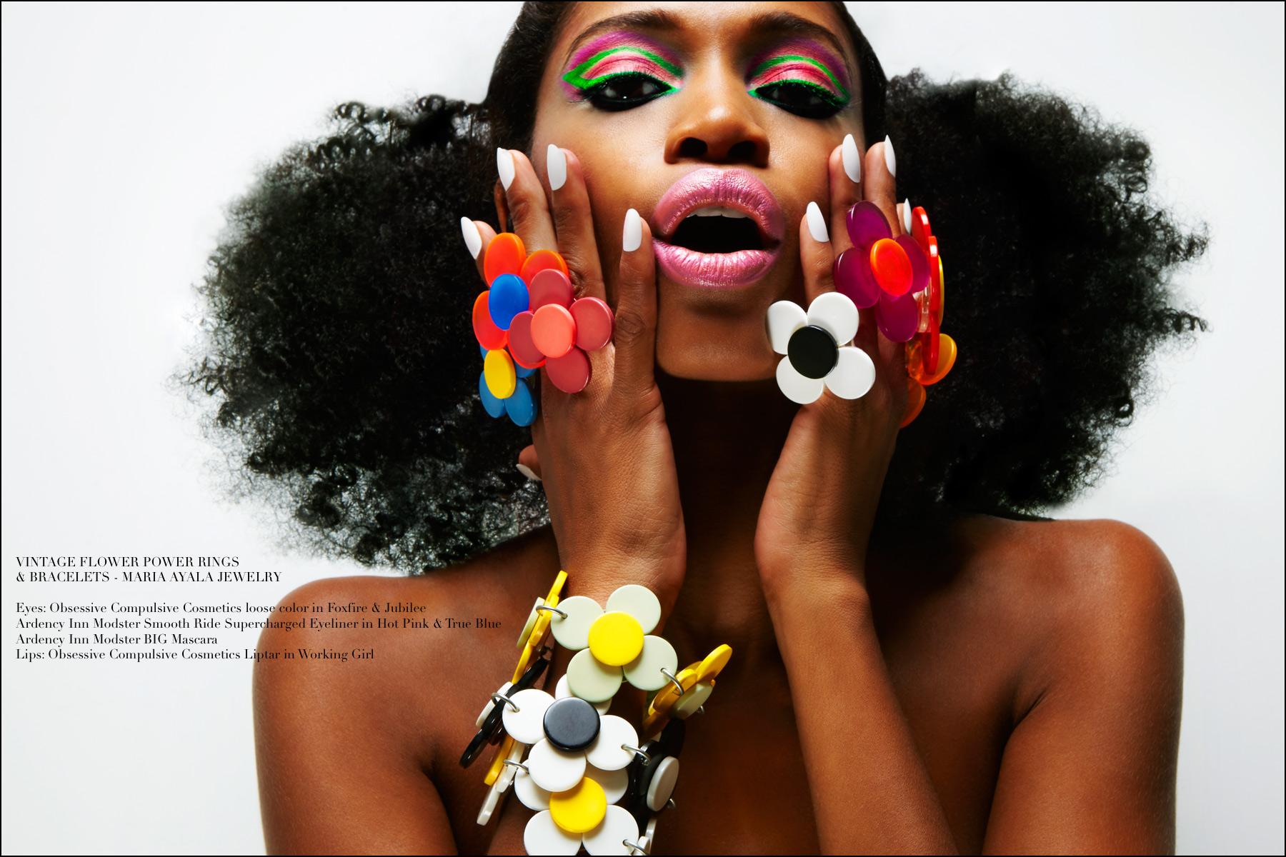 Model Christina Anderson-McDonald