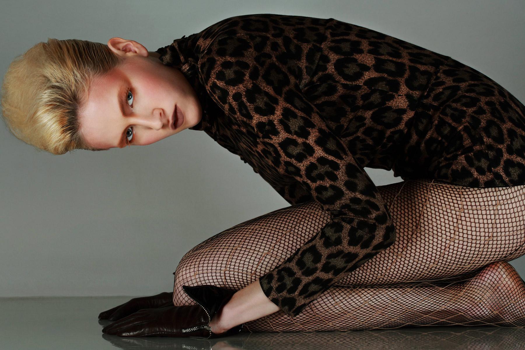 Vintage 80s womenswear editorial
