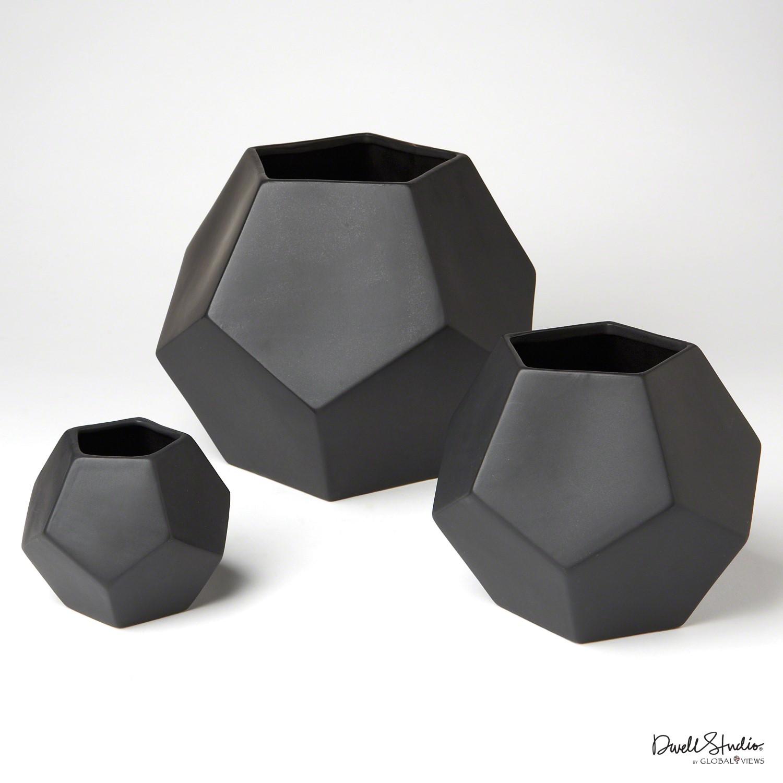 Multi Faceted Vase - Large