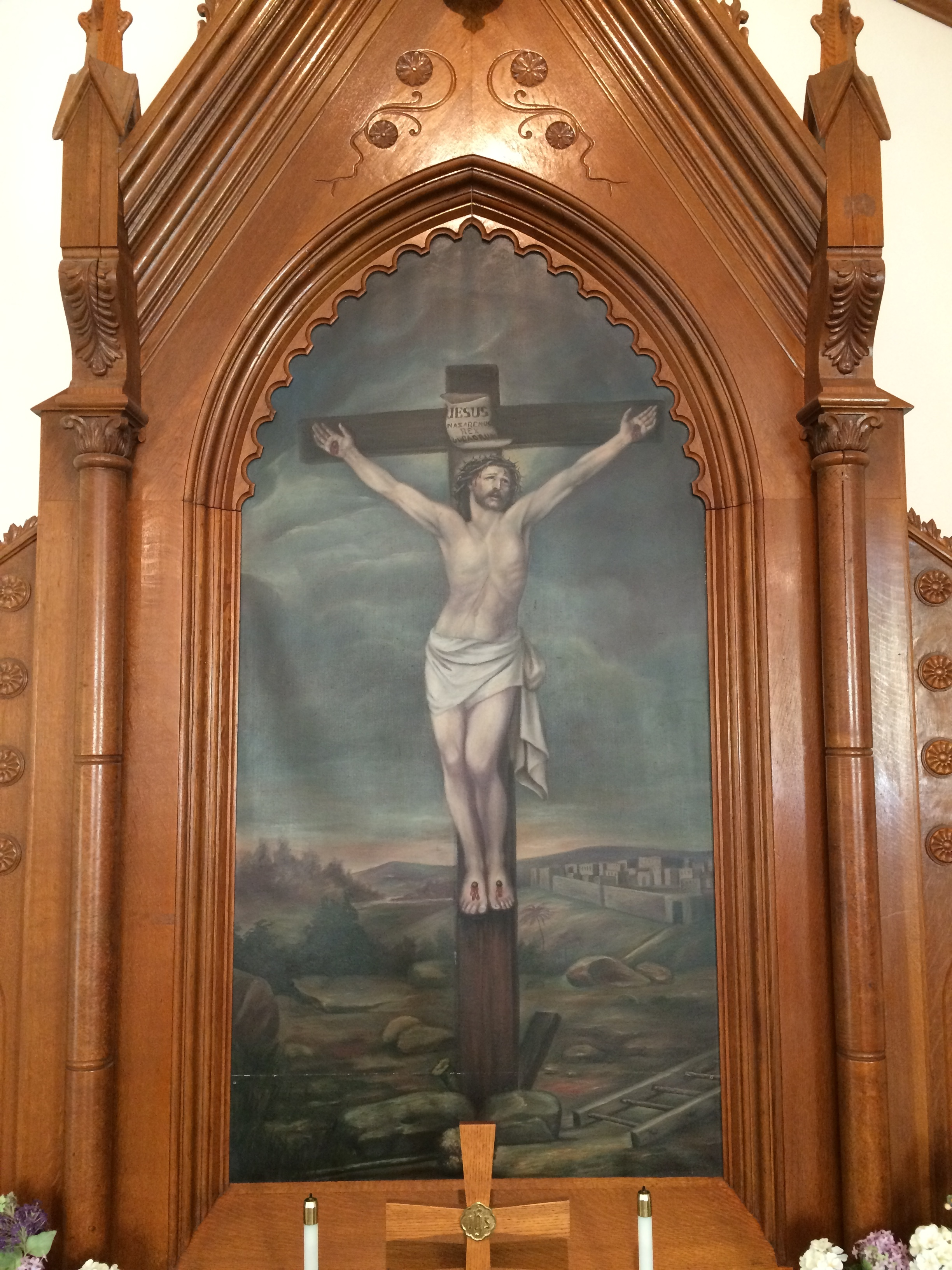 """""""For I decided to know nothing among you except Jesus Christ and him crucified."""" 1 Cor. 2:2"""