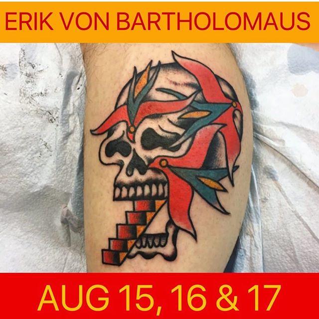 Email Erik for availability  @erik_von_bartholomaus  @erik_von_bartholomaus  @erik_von_bartholomaus