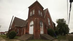 Centennial Baptist Church, Helena AK. Photo by Dave Anderson