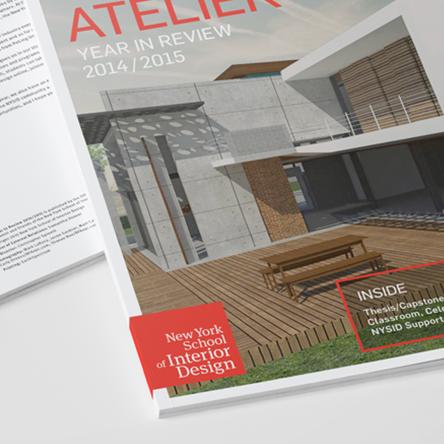 NEW YORK SCHOOL OF INTERIOR DESIGN     2014/2015 Atelier