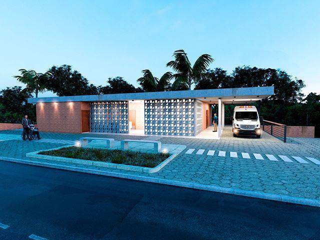 Projeto para o concurso da Unidade Básica de Saúde do Gurugi, na Paraíba, em parceria com @studiomemm. O maior desafio foi cumprir o extenso programa de necessidades no terreno de aproximadamente 250m².⠀ ⠀ ⠀ ⠀ #architecture #archilovers #arquitectura #decor #design #interiordesign #homedecor #interior #home #interiors #homedesign #style #interiordecor #decoration #inspiration #interiordesigner #interiorstyling #art #designer #furniture #interiorinspiration #love #instahome #luxury#arquitetura#decoração#interiores#arte#fotografia#luxuryhomes