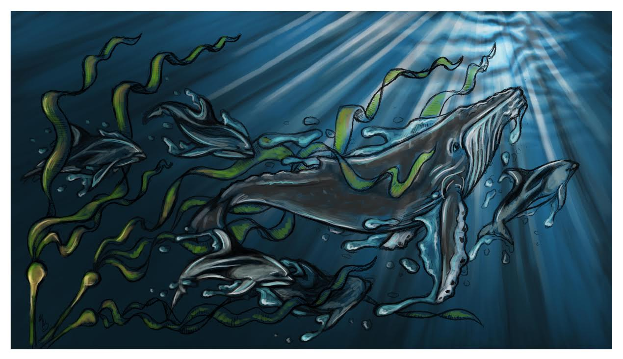 From the Deep  | Digital Sketch