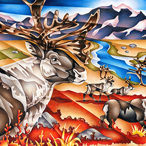 The-Journey-Caribou-Colored-Pencil-Thumbnail.png