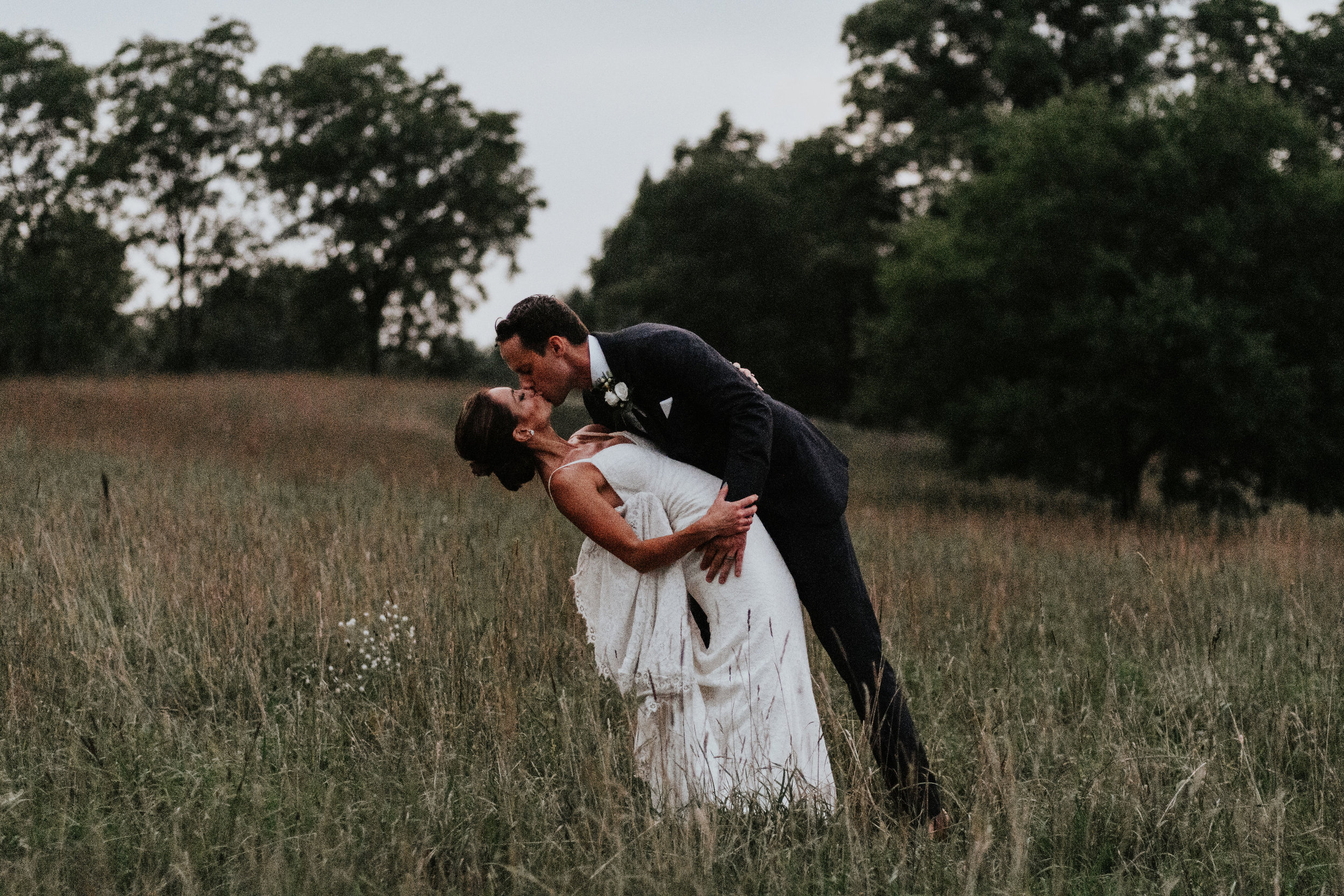 Rustic + Modern - The perfect location for the refined couple planning a midwest destination wedding.
