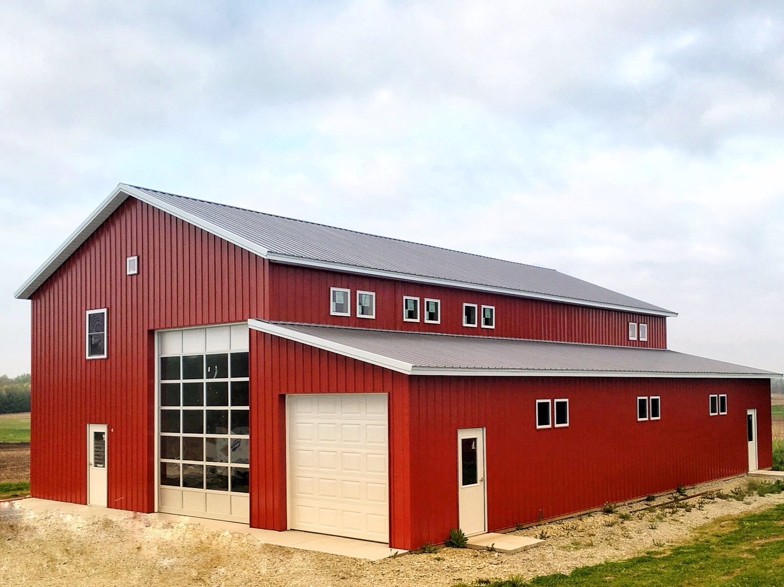 The Big Red Barn at Lake Max Meadows is the ideal space to accommodate your wedding party or host a small private party.