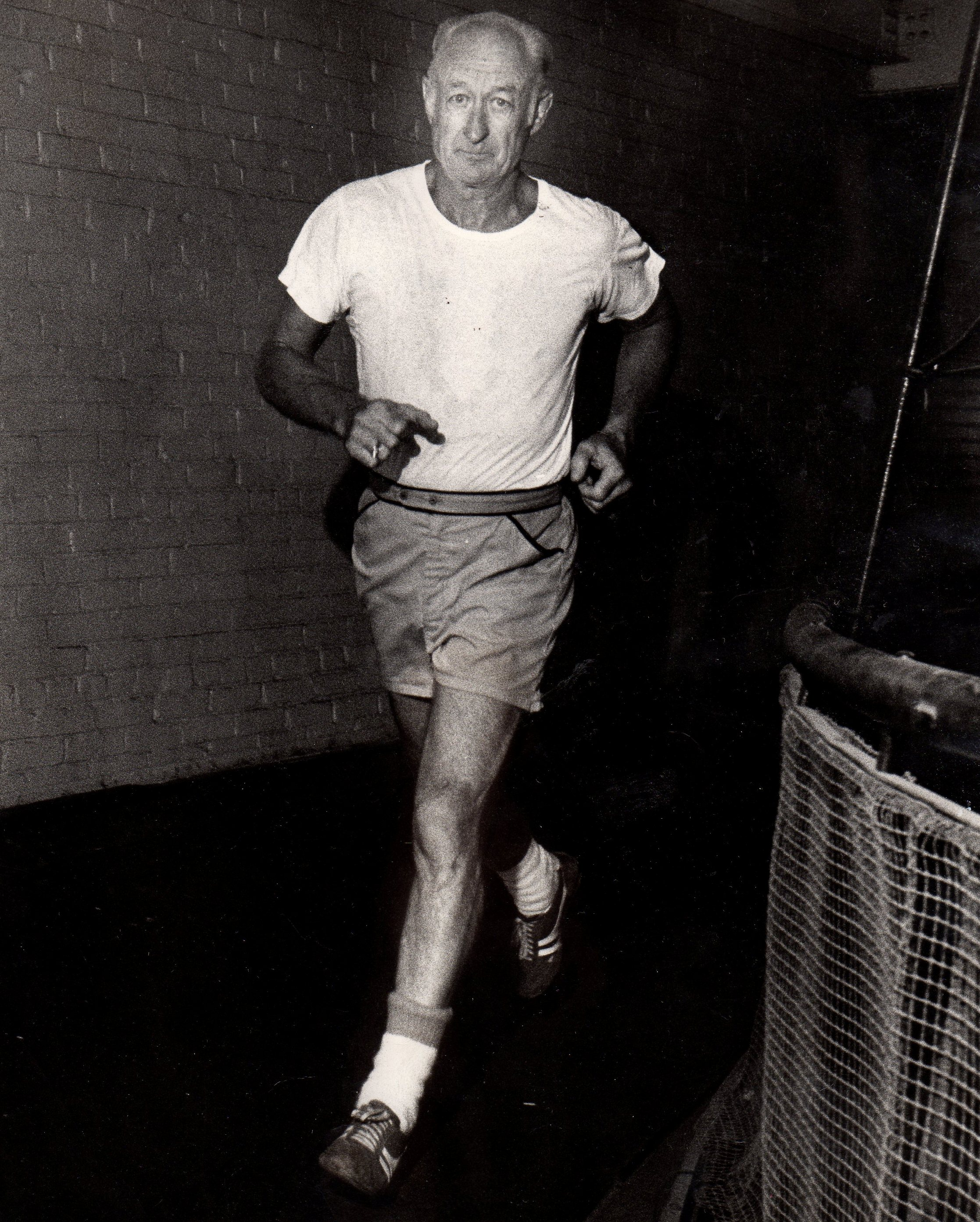 Paul Walsh at Evansville YMCA in 1978.