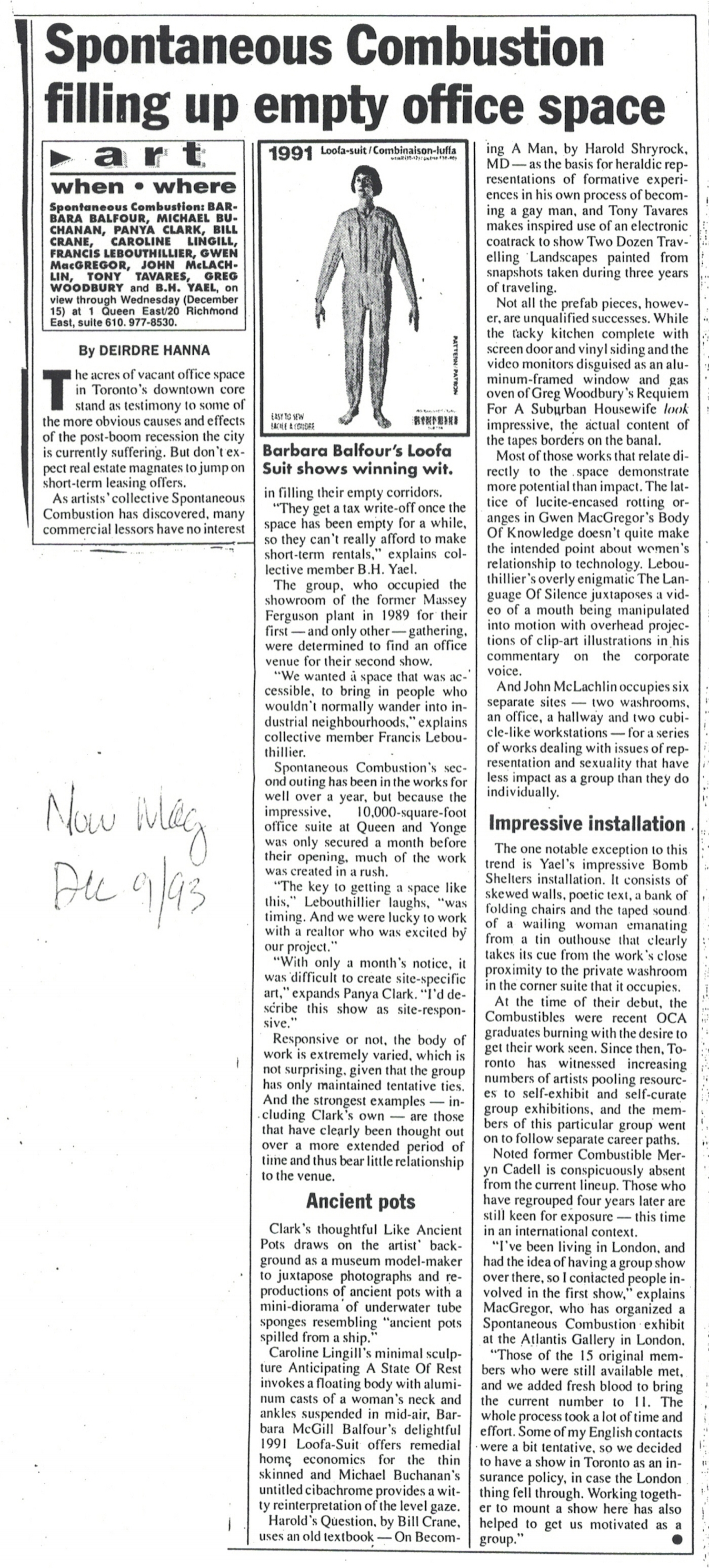 Now Magazine - 1993 - by Deirdre Hanna.jpg