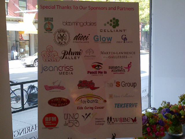 Thank you to over 50 Sponsors