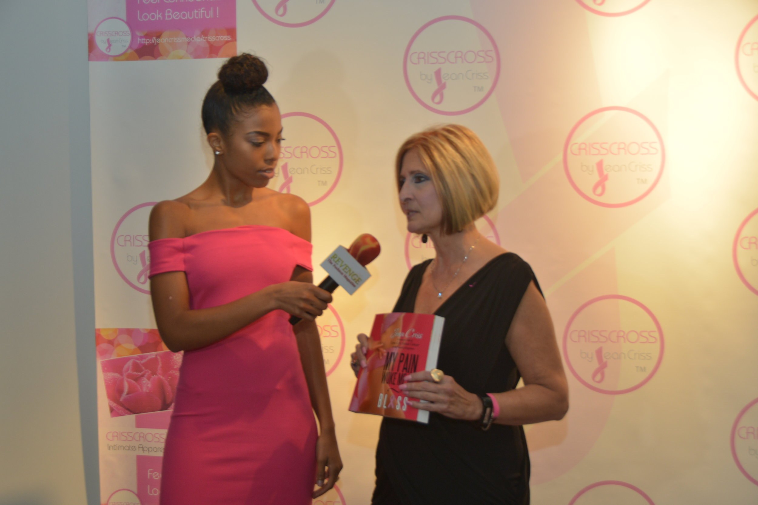 Interview w/Revenge Magazine and Founder/CRISSCROSS & Author, Jean Criss:  My Pain Woke Me Up: BLISS