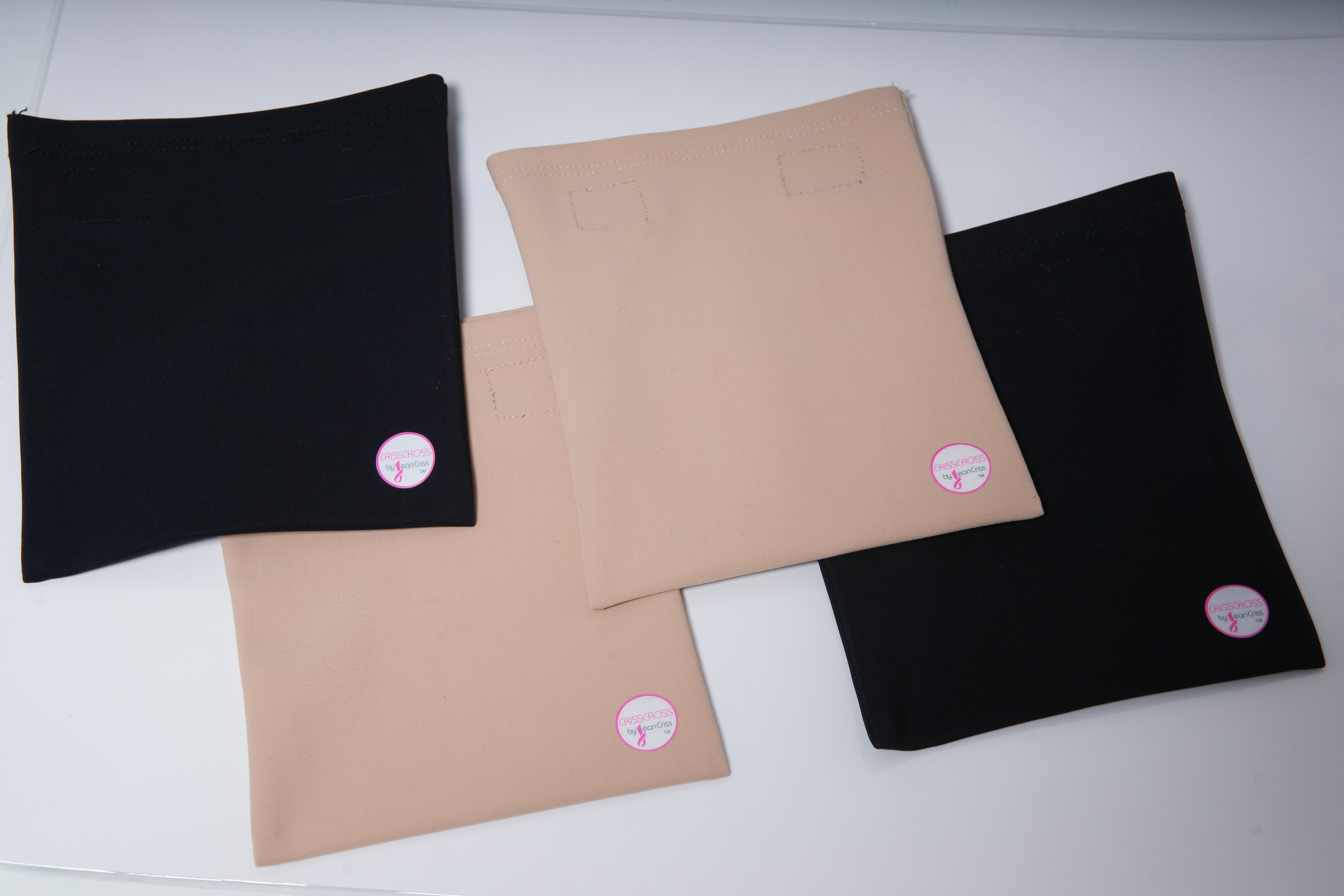 And don't forget to purchase a CRISSCROSS pouch or two for your #fab leggings or women's bra or men's vest ensemble.