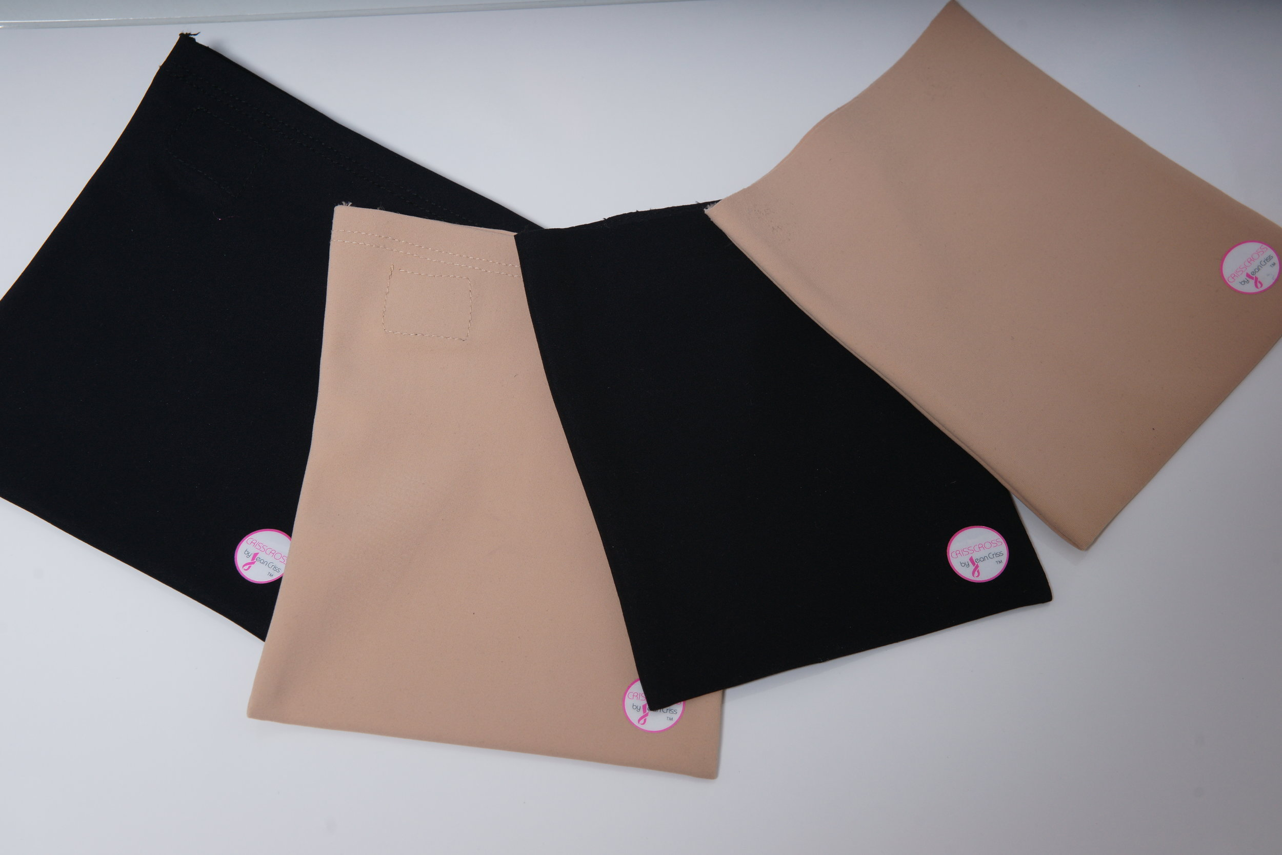 And don't forget to purchase your CRISSCROSS Pouch to look #FAB in your women's bra or men's vest ensembles!