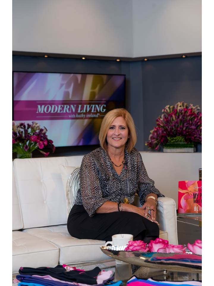 Happy to be on-set with Kathy - so genuine and interested in helping you succeed.
