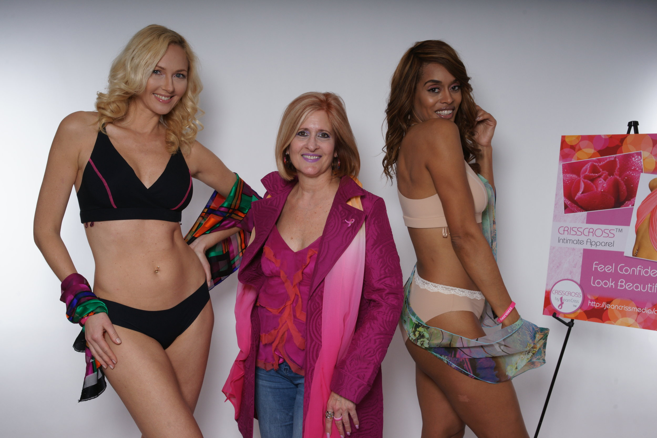 CRISSCROSS collection featured with Jean Criss, designer and founder