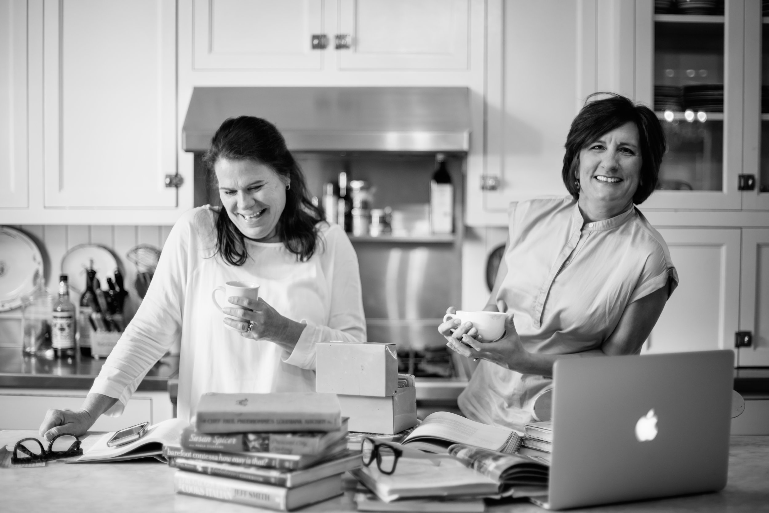 Our Story… - JOAN AND SHANNON FOUNDED INGLE EATS WITH ONE GOAL IN MIND: TO SEND FAMILIES BACK TO THE DINNER TABLE TO CONNECT WITH EACH OTHER OVER DELICIOUS, CREATIVE MEALS.