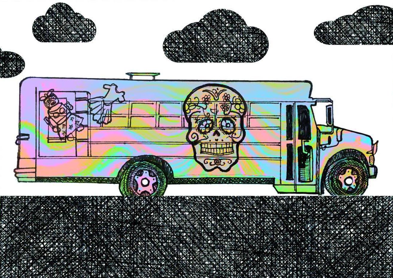 Tiny Bus Doodle