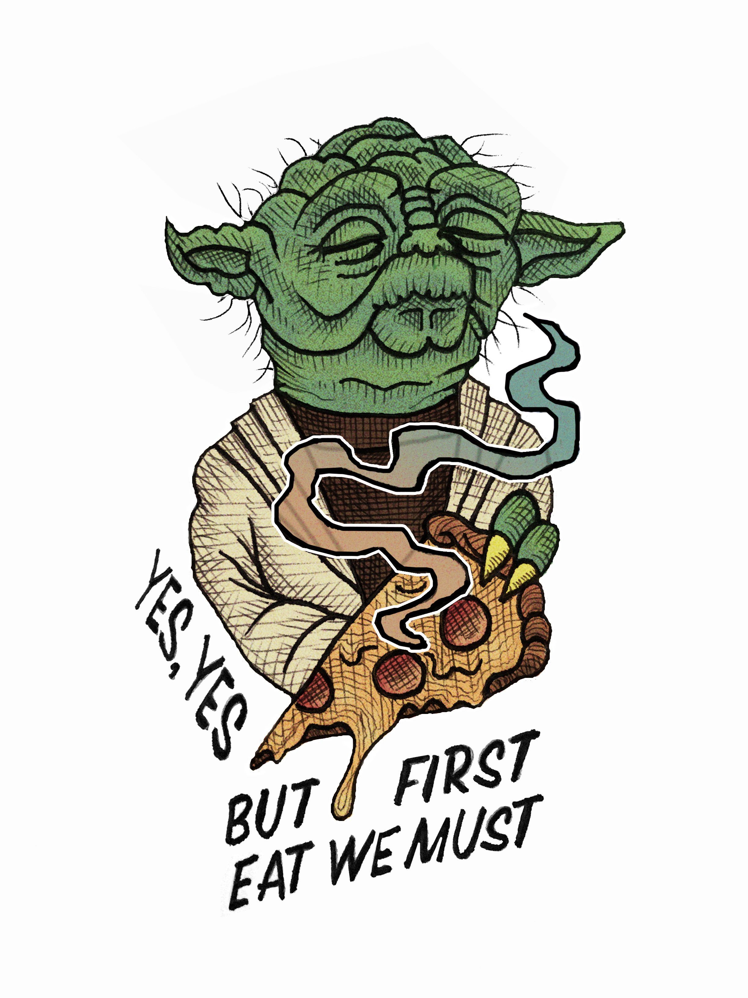 Yoda - But First Eat We Must