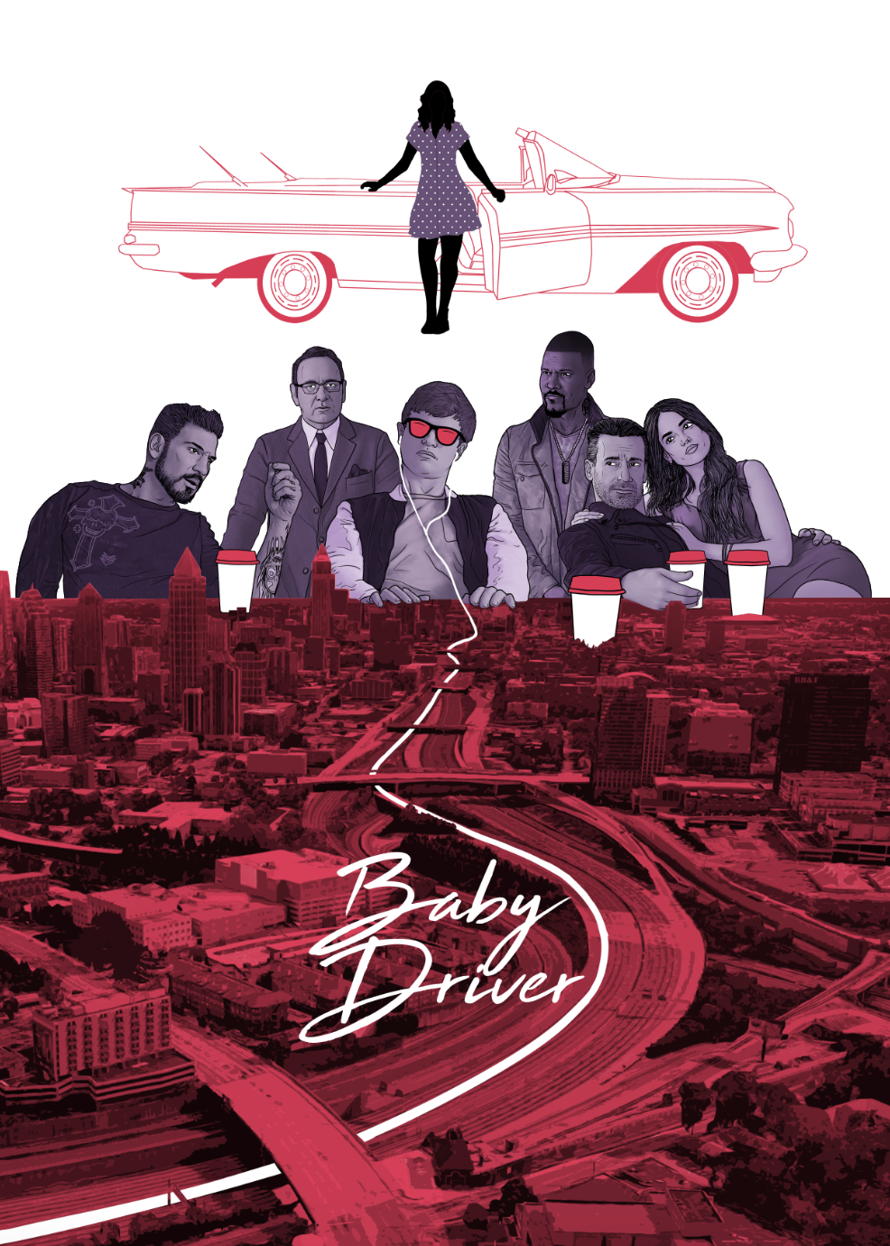 Baby Driver - Poster Design