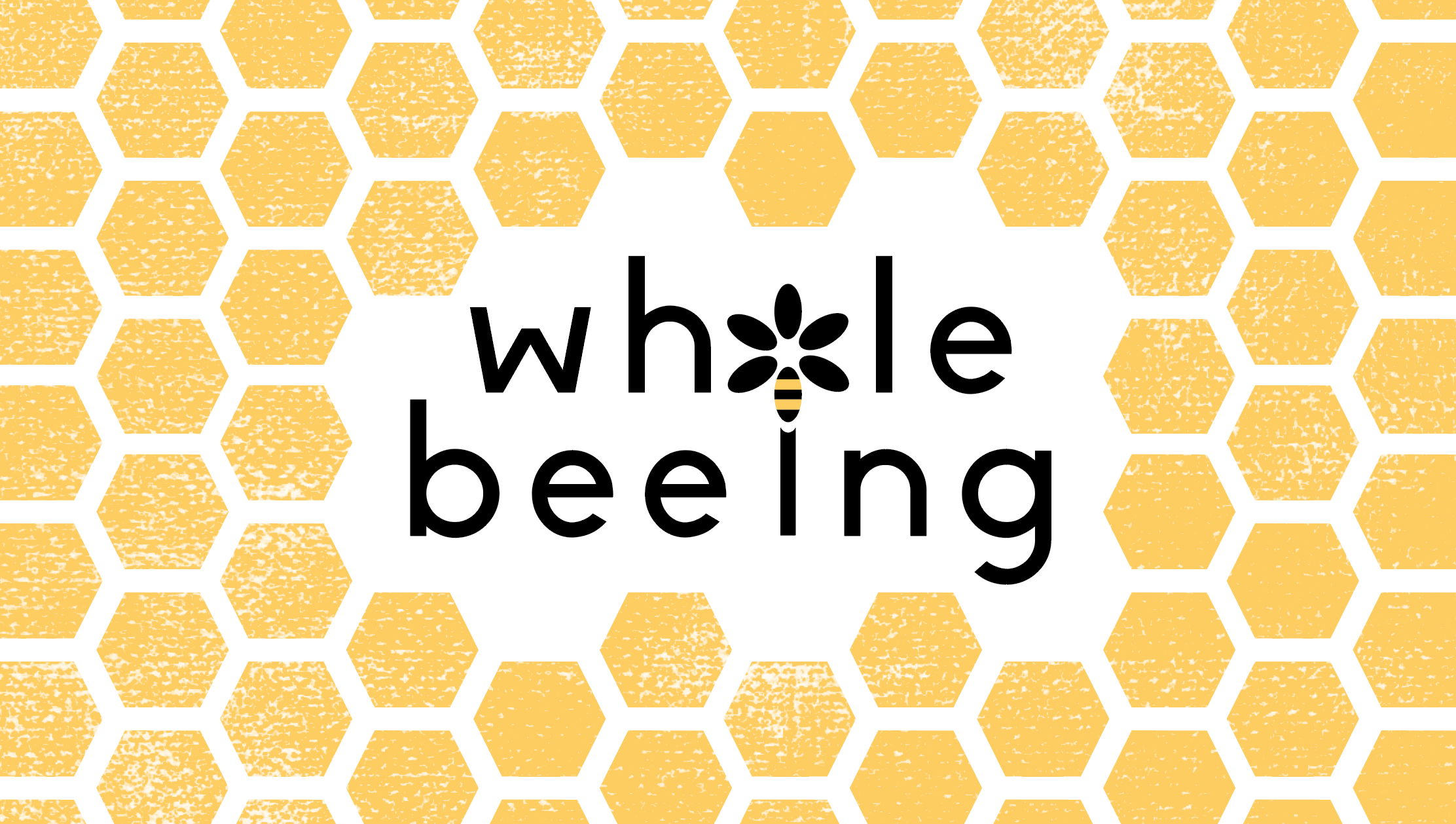"""""""Whole Beeing"""" - Logo and business card design"""