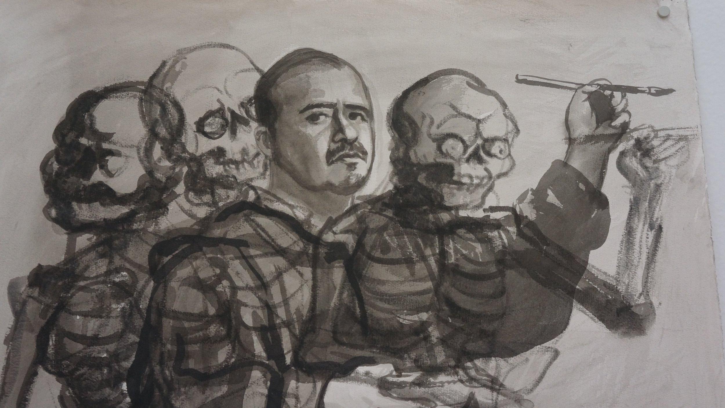 Autorretrato Germán Venegas