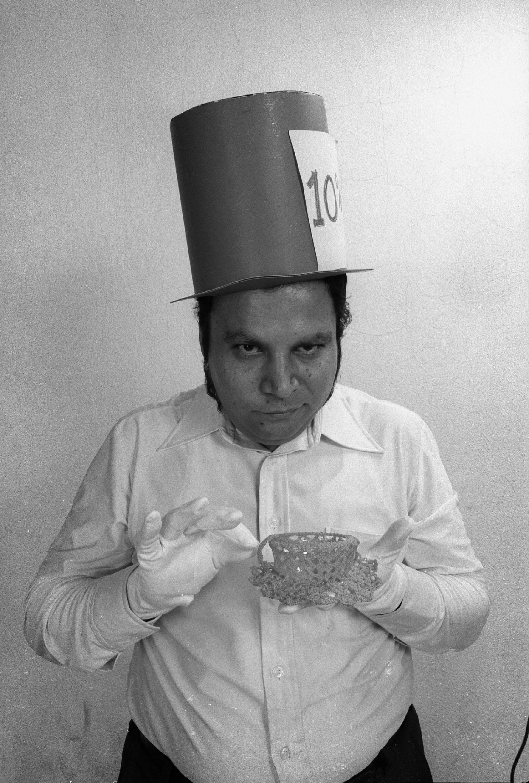 El mismísimo Melquiades en una foto de Javier Hinojosa