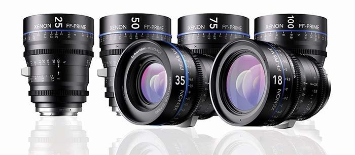Lentes Schneider - Para la cámara F55 o por separado