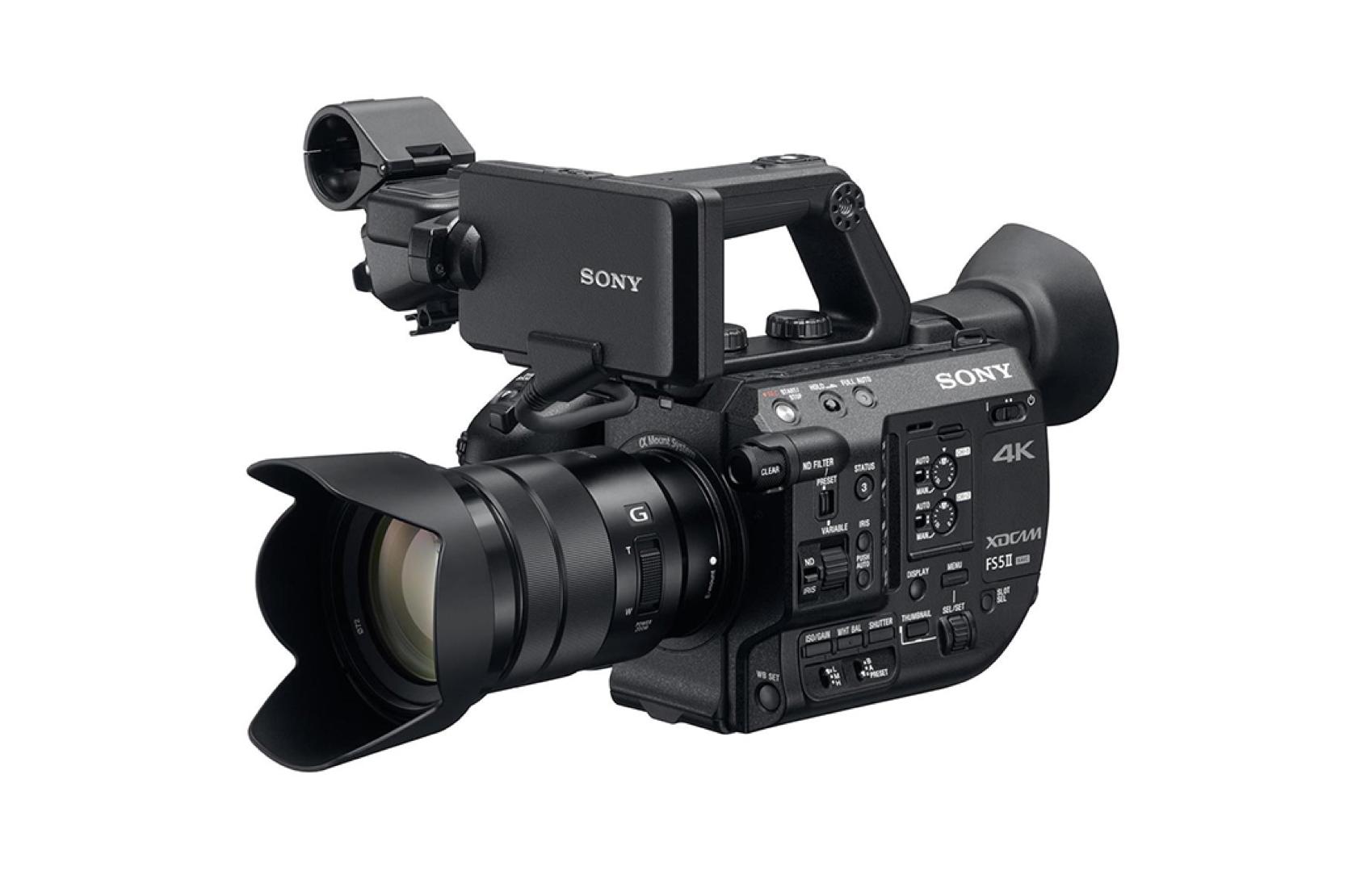 FS5 XDCAM - Lentes intercambiables/ graba hasta 4K / pequeña, flexible, poderosa…
